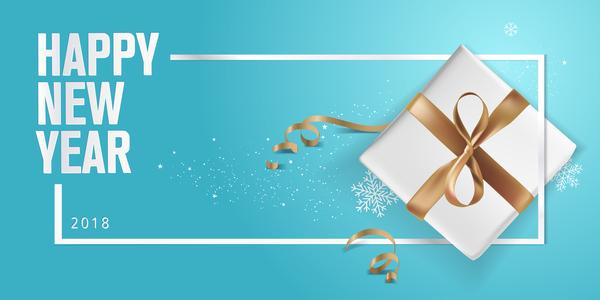nouveau cadeau bleu annee 2018