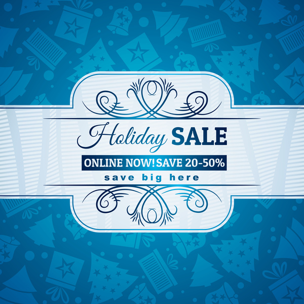 Rabatt jul försäljning blå