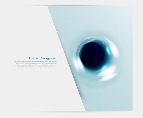 Licht dot blau Abstrakt