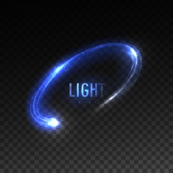 Luce blu effetto