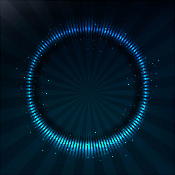 ram modern ljus blå