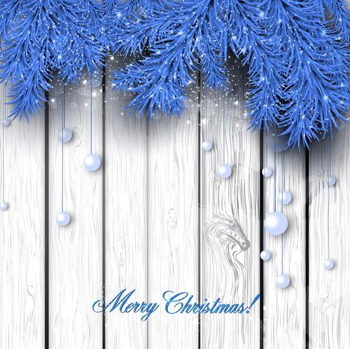 pin de Noël bleu aiguilles