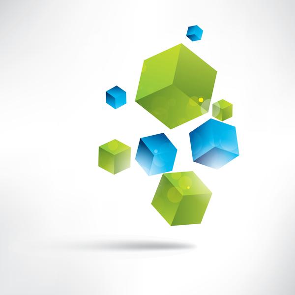 verde cubi blu