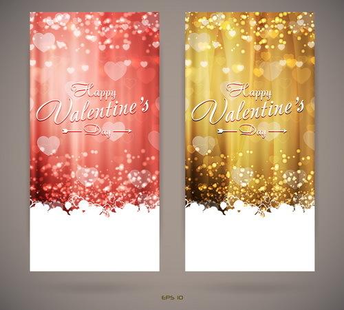 San Valentino invito giorno carte bright