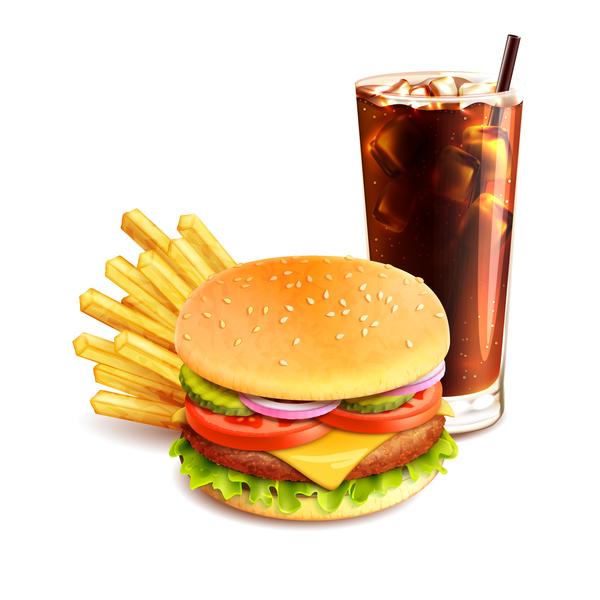 patatine hamburger bevande