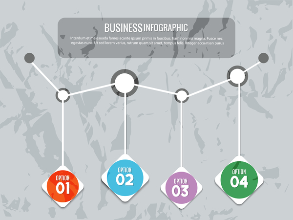 Infografik creative business