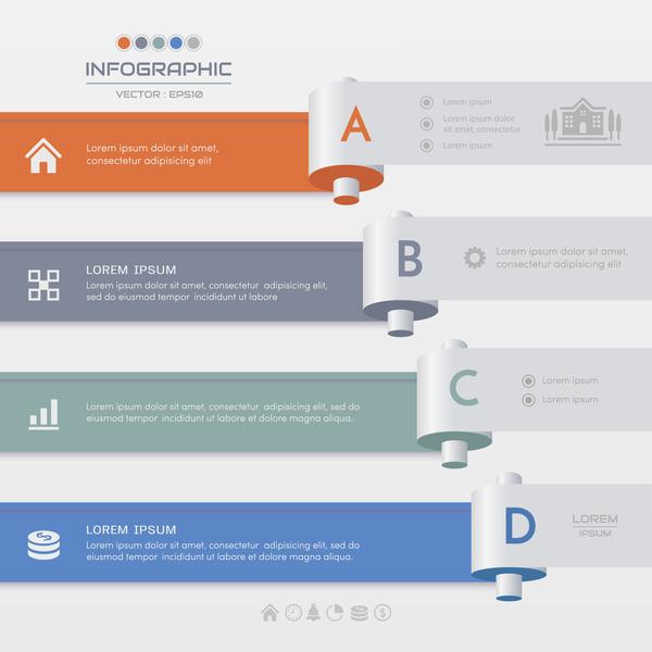 infographie business Bannière