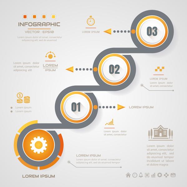 infografica business banner