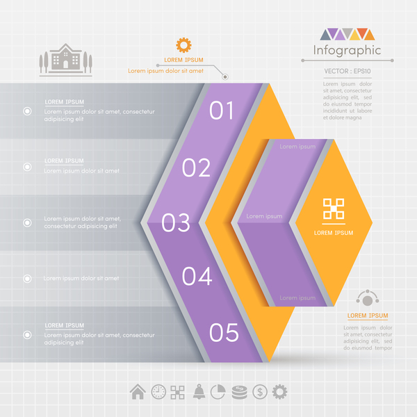infographic business banner