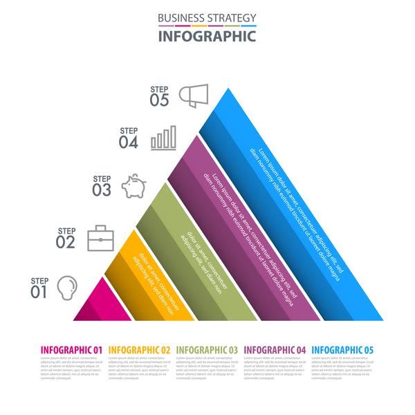 Strategie Infografik business