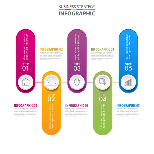 、ビジネス、インフォ グラフィック、戦略