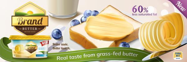 Werbung poster butter
