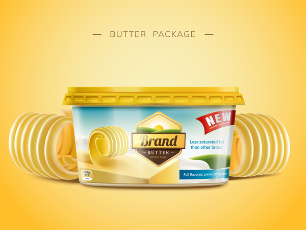 poster paket butter