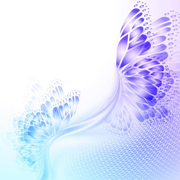 vingar Fjäril Abstrakt