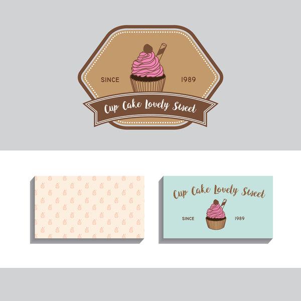 etichette carta cake business