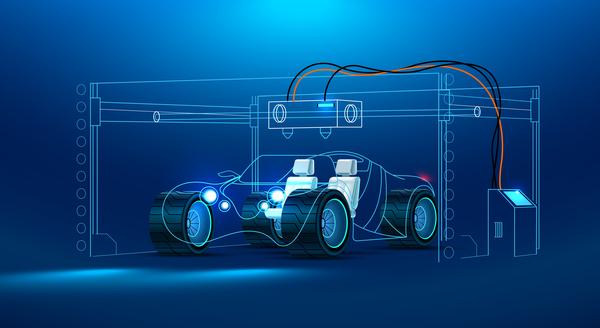 Verksamhet underhåll smart Bil