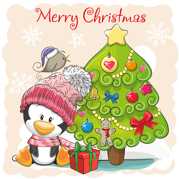 Weihnachten cartoon Baum