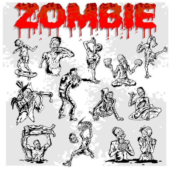 zombie cartoni animati