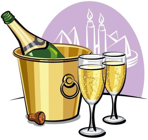 Tazza bicchiere di champagne