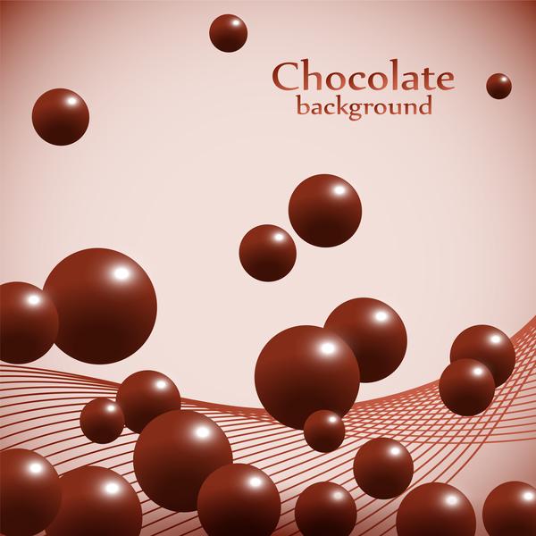 Schokolade ball