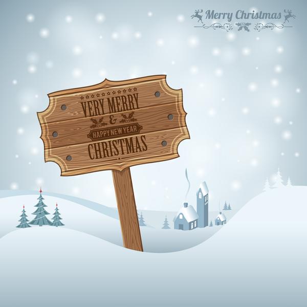Tavola Natale iscriviti in legno