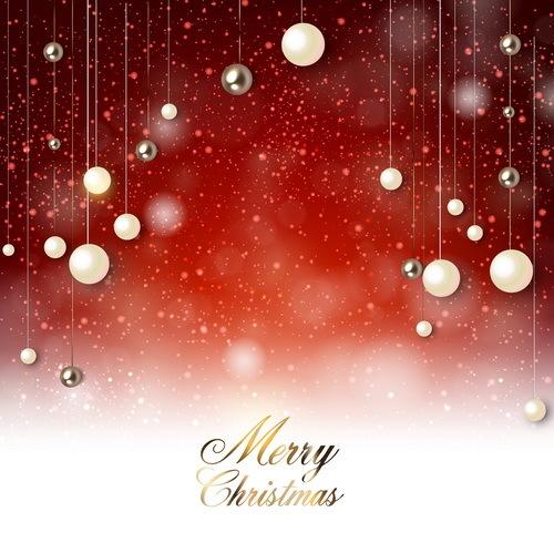 Weihnachtskugel Weihnachten rot Dekor