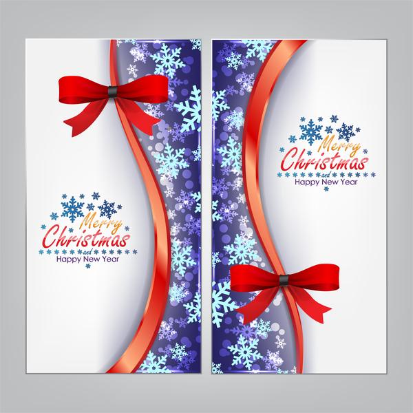 Natale banner archi