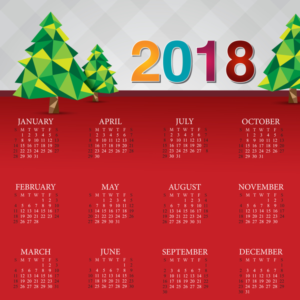 Kalender jul 2018