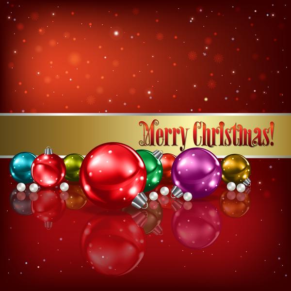 rouge Noel flocons de neige decorations