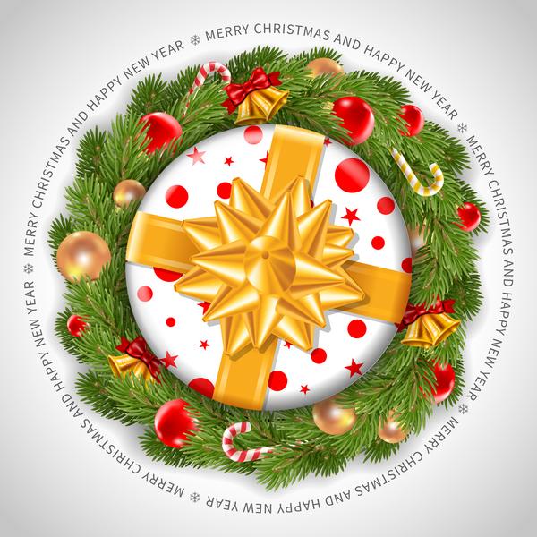 Weihnachten Frohe Weihnachten Kranz