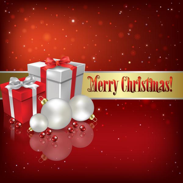 rouge Noel decorations cadeaux