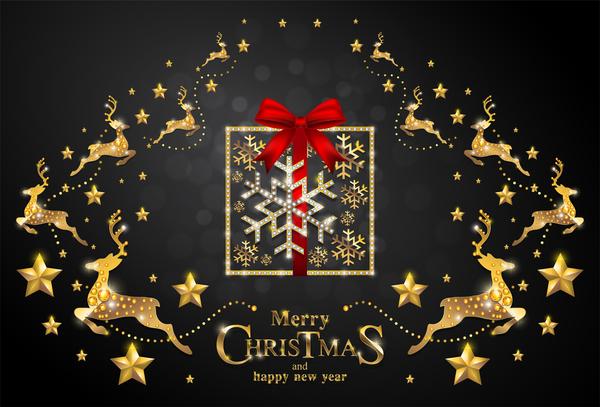 、クリスマスの装飾、ゴールデン