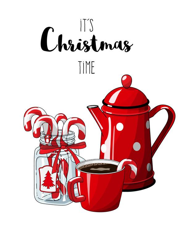 Weihnachten tee süß hand