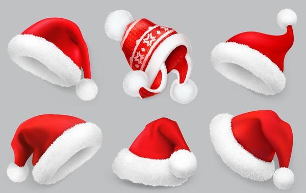 、クリスマスの帽子