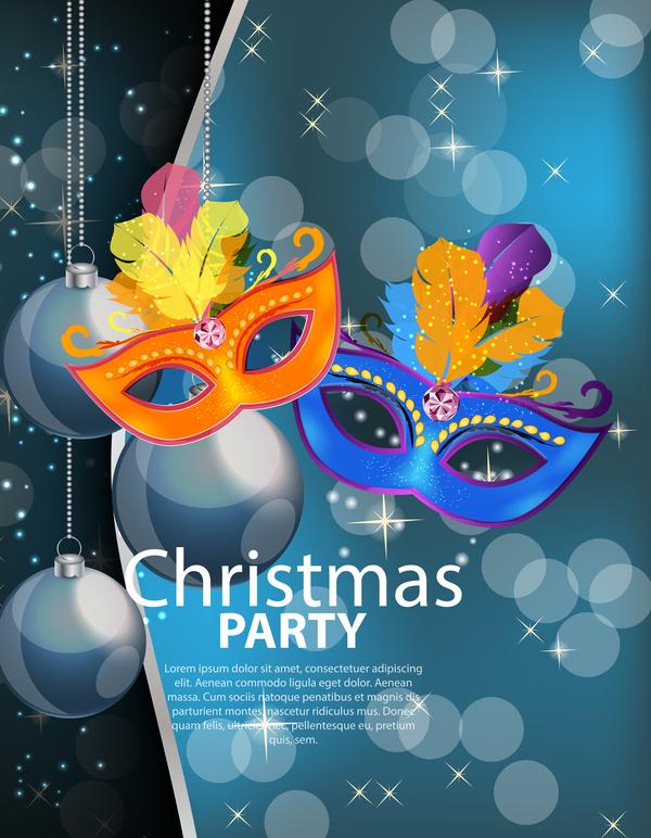xmas poster party Noel