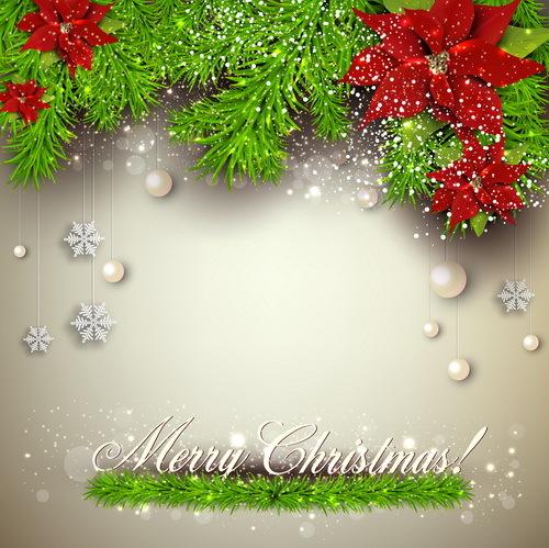 tall rod nålar jul inredning Blomma