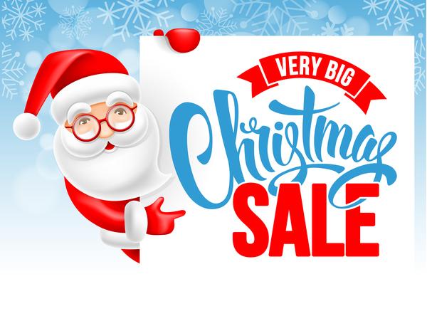 Weihnachten Verkauf santa cute