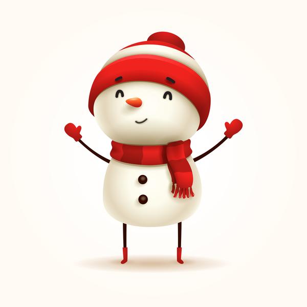 雪だるま ホワイト クリスマス かわいい