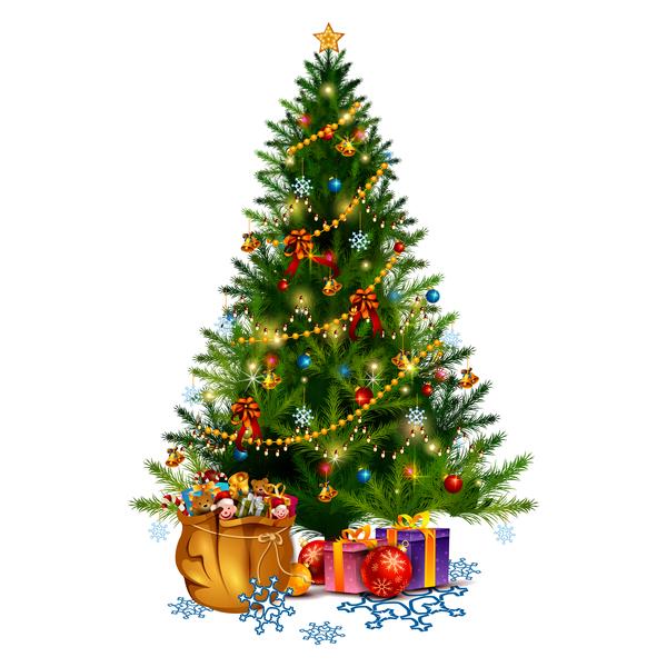 träd jul gåva