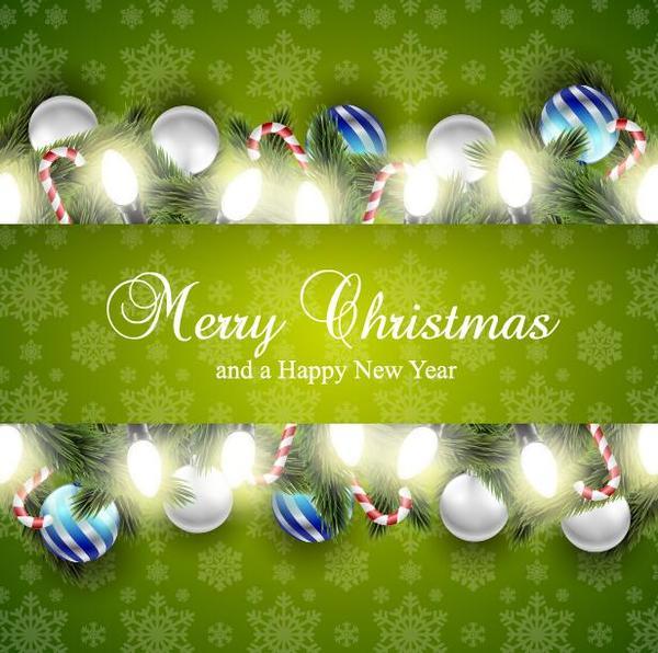 nya kort jul grön ar