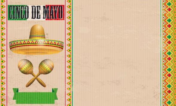 vintage sombrero mayo maracas header cinco