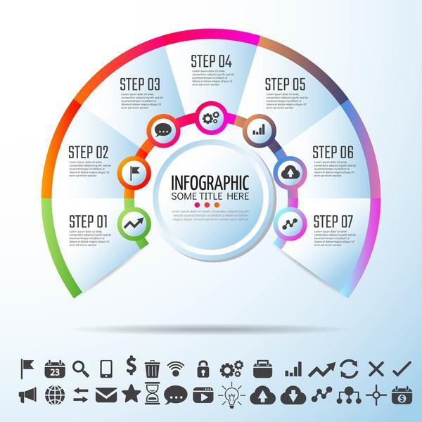 Option infographie Cercles