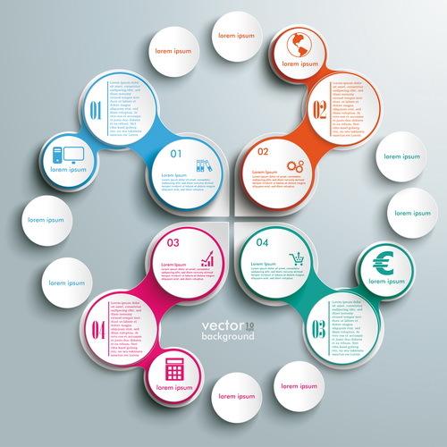 Option Kreise Infografik