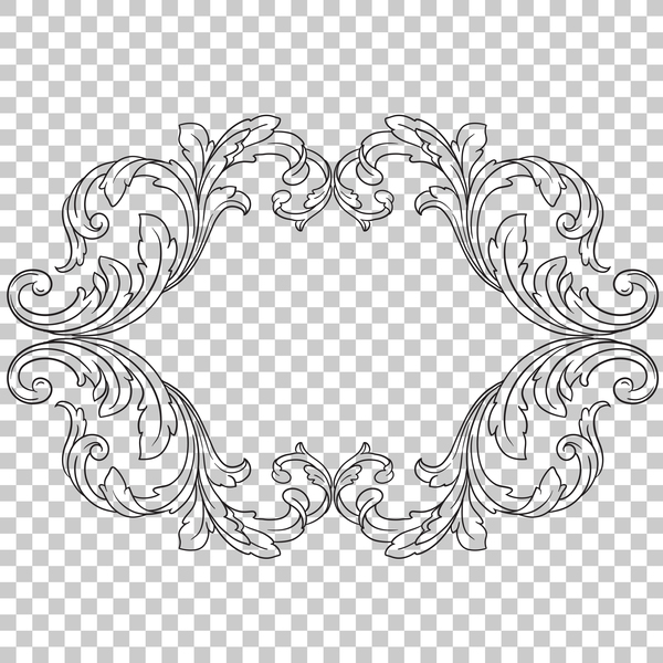 telaio ornamento classica