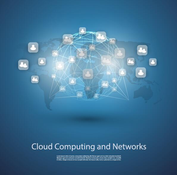 Netzwerk computer cloud business