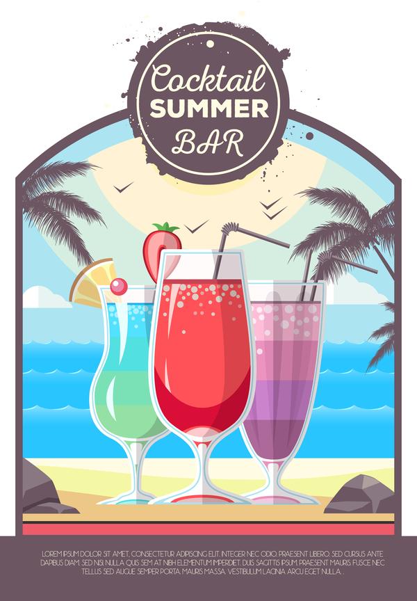 poster estate cocktail bar