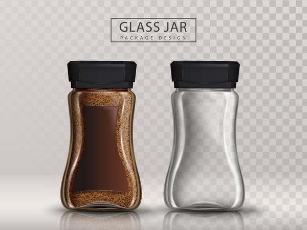 paket kaffee Glas