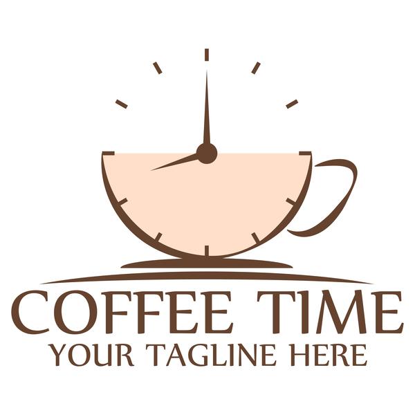Uhr logos kaffee