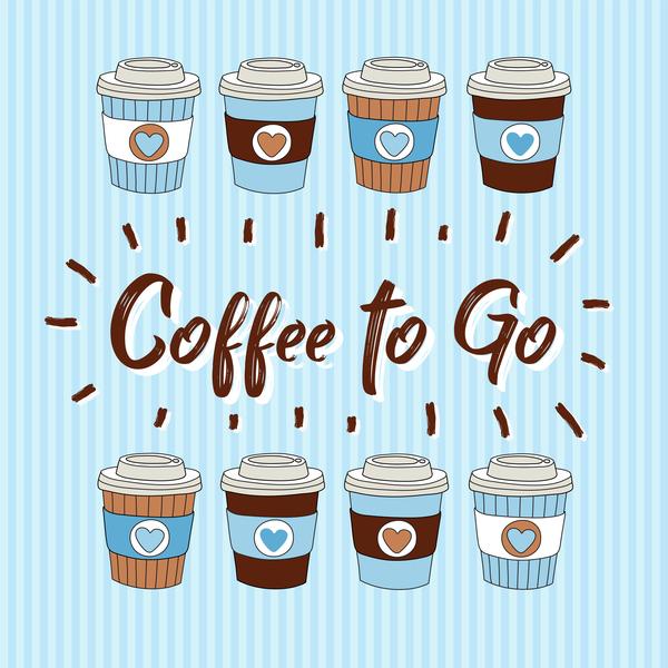 tasses paquet Papier cafe