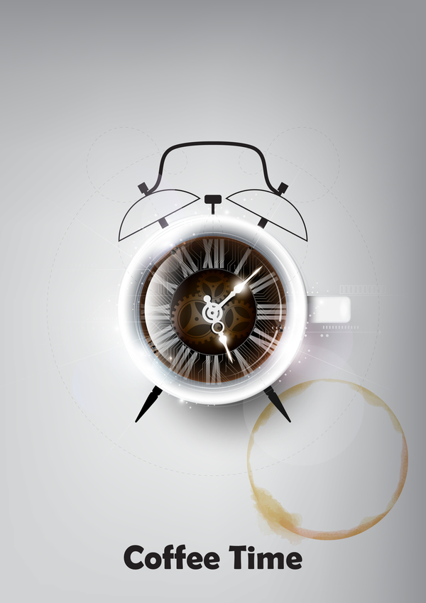 coffee clock